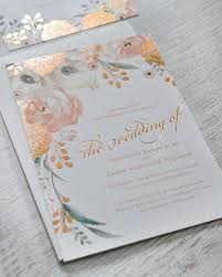 wedding invitations embossed 11 embossed wedding invitations that will give you all the feels