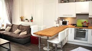 cuisine ouverte sur sejour salon amenager une cuisine ouverte sur salon design essys info