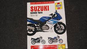 haynes suzuki gs500 twin workshop manual 1989 2008 u2022 9 00