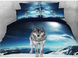 Wolf Bedding Set Wolf Print Bedding Sets Beddinginn