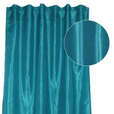 Teal Taffeta Curtains The Seven Drawers Bringing In Curtain Panels From Our Suppliers