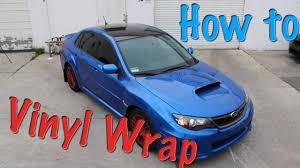 subaru wrapped 2011 subaru wrx vinyl roof wrap full install tutorial youtube