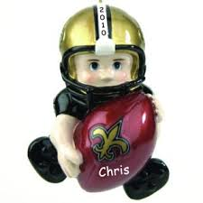new orleans saints ornaments personalized