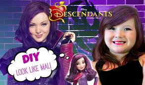 Mal Costume Disney Descendants Mal Inspired Makeup Tutorial Daughter Of