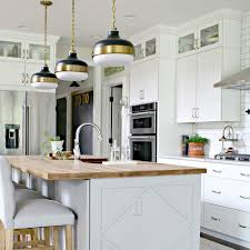 how do you attach island cabinets to the floor how to customize a plain kitchen island with side panels