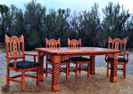 Southwestern Style Queencreek Southwest Style Dining Set Tables Chairs China