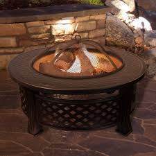 wood burning fire table round steel wood burning fire pit table patio for real