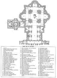 Chapel Floor Plans And Elevations Engineeringrome The Engineering Behind Saint Peter U0027s Basilica