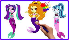 mlp equestria girls rainbow rocks coloring book my little