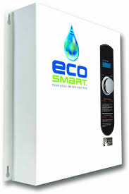 ecosmart whole house 27kw 220 240v tankless water system on