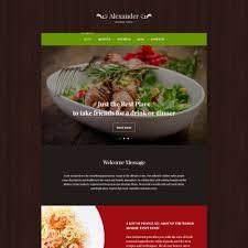 premium cuisine premium restaurant themes templatemonster