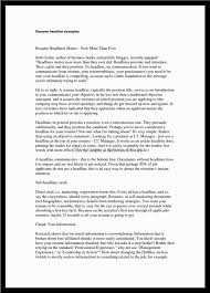 examples of resume titles great resume titles examples within