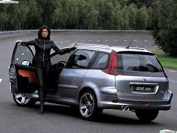 peugeot 206 turbo car peugeot 206 sw concept 2001 04