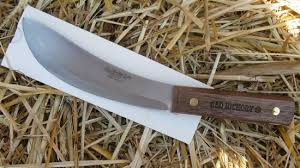 hickory kitchen knives ontario hickory skinning field knife high carbon steel 7150