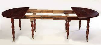 drop leaf dining room table fine french 18th century mahogany extending drop leaf dining table