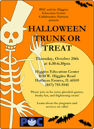 community members invited to upcoming halloween trunk or treat