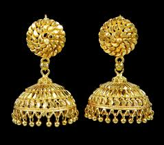 new jhumka earrings gold plated jhumka earring indian women wedding jewelry