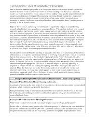 Sample Of A Perfect Resume by Example Of An Introductory Paragraph With A Thesis Statement How