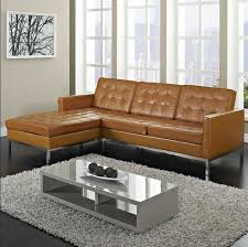 awesome light brown leather sectional wonderful tan leather