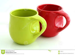 elegant coffee mugs red coffee mugs royalty free stock photography image 14008937