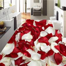 Rose Petals Room Decoration Free Shipping 3d Rose Petal Flooring Waterproof Home Decoration