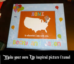 crafty corner up inspired photo frame disney in your day up picture frame disney in your day