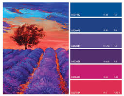 blue purple and pink color combinations blue purple and pink