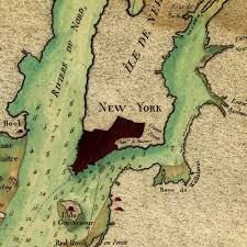 Hudson River Map Map Of New York 1778 American Revolution Hudson River Sandy Hook