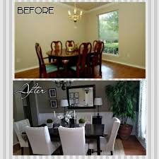 Dining Room Makeover Jumplyco - Decorating dining room walls