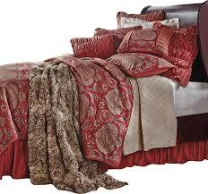 Red Gold Comforter Sets Western Comforter Sets With Floral Bedding Set Floral Comforter