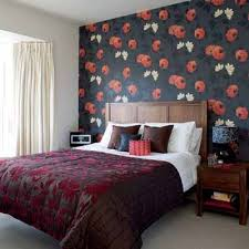 Modern Wallpaper Bedroom Designs Bright Bedroom Wall Decoration With Modern Wallpaper