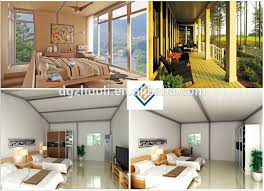 modular prefab home kit price low cost villa house plan buy