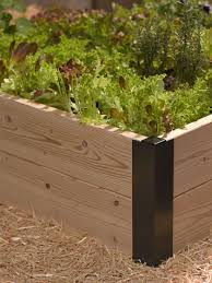How To Make A Raised Vegetable Garden by Raised Bed Corners Diy Raised Garden Beds Made In Vermont