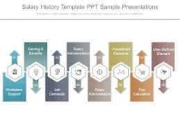 salary history template ppt sample presentations powerpoint