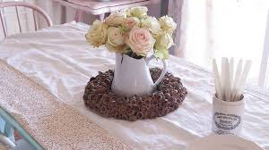 simple center pieces simple centerpieces for everyday fall white lace cottage