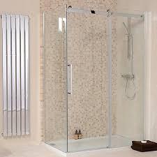 1200 Sliding Shower Door The 1000 X 800 Aquastream Elite 8mm Sliding Shower Enclosure