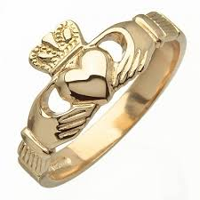 claddagh rings gold claddagh ring blarney made in ireland by fado jewellery