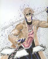 gambit sketch by domeddi on deviantart