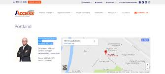 Google Map Portland Oregon by Access Portland Oregon Officerecords Com