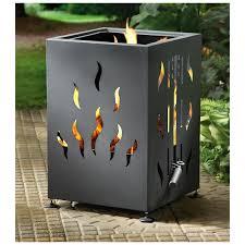 backyard fire pit grill castlecreek backyard firepit u0026 bbq grill 234556 fire pits