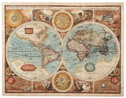 World Map Rug by Old Map 1626 A New And Accvrat Map Of The World Stock Photo