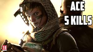 rainbow six siege valkyrie ace after twitchcon 5 kills youtube