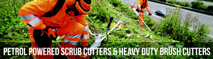 scrub cutters and heavy duty brush cutters