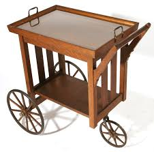 stickley tea cart art and crafts movement furniture pinterest