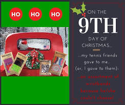 tennis u0026 sport holiday gift idea 9 12 days of christmas