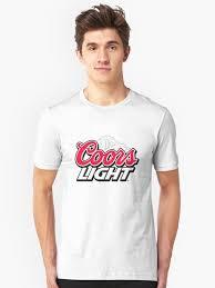 coors light t shirt amazon coors light log pullover by milljuke redbubble