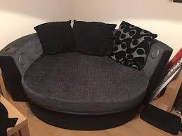 cuddle sofa leather sectional sofa