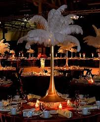 centerpiece rental ostrich feather centerpieces diy rentals designer centerpieces