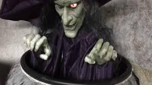 spirit halloween evil cauldron witch youtube