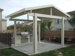 Free Standing Patio Plans Mesmerizing How To Build A Freestanding Wood Patio Cover Patio